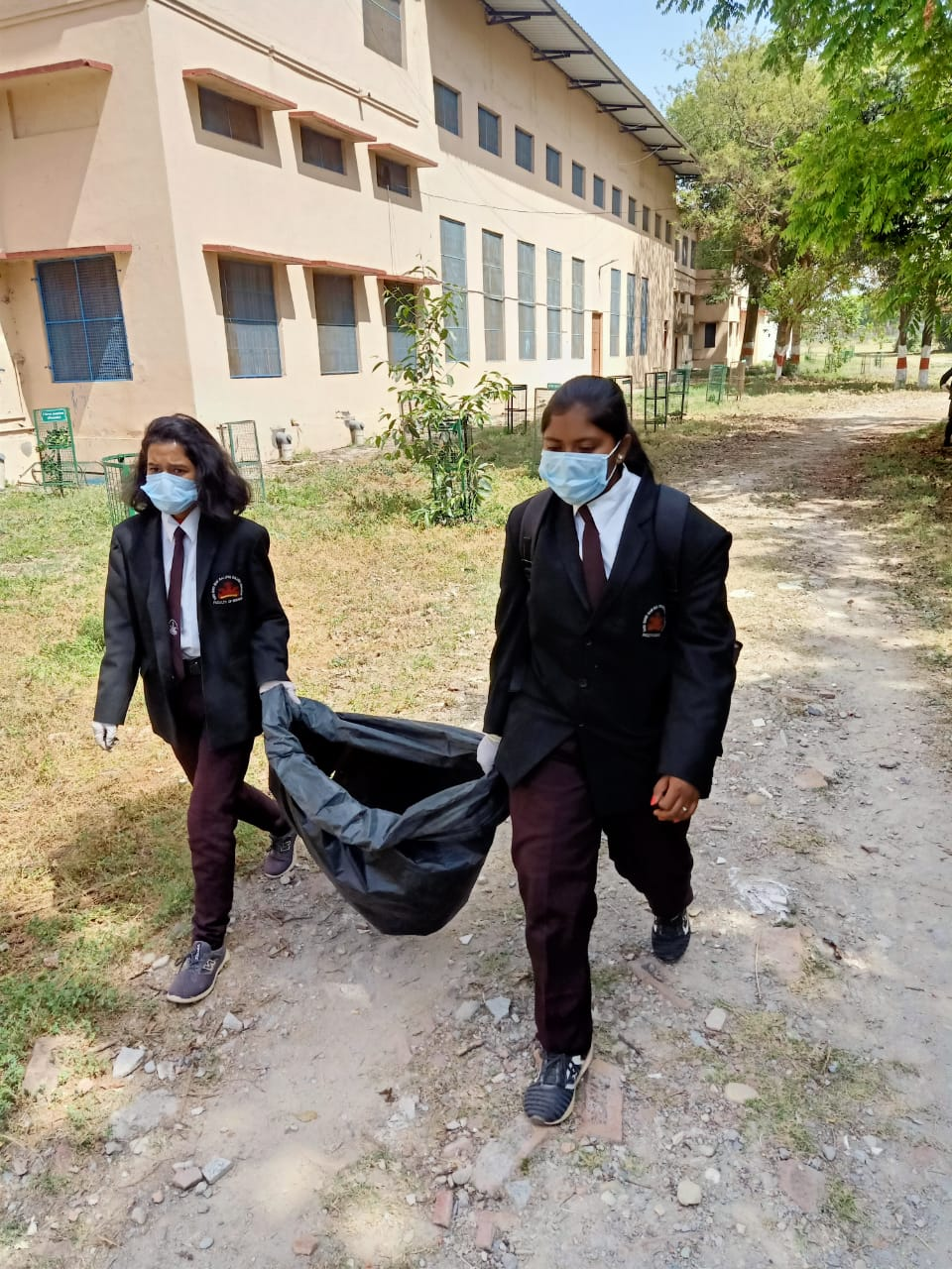 Campus Cleanliness, NSS, 25 March 2021